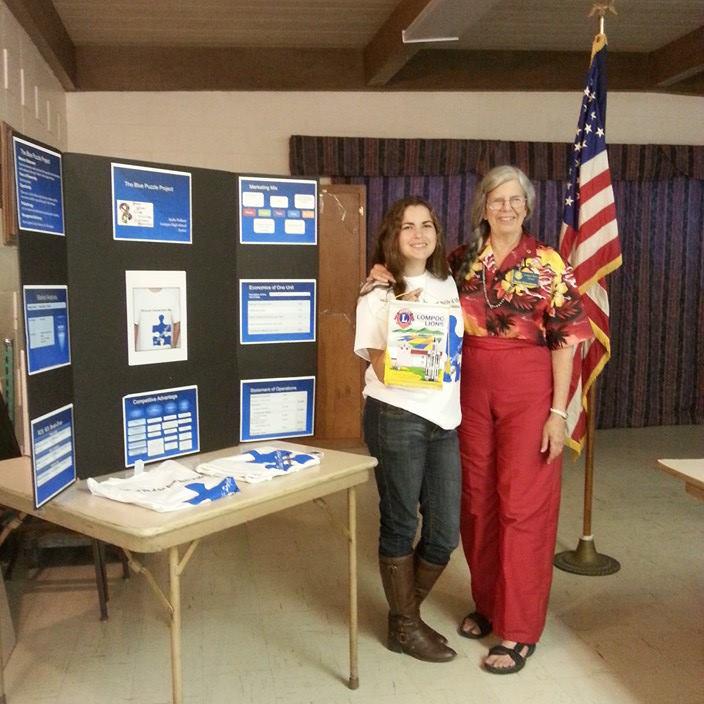 Kadie Pulliam: Blue Puzzle Project