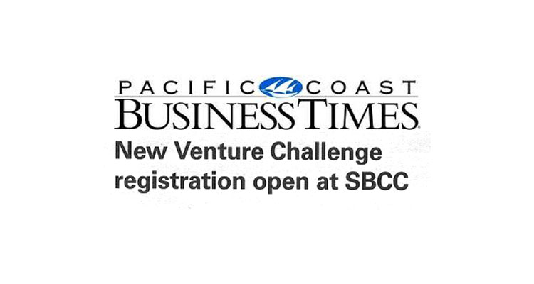 New Venture Challenge Registration Open at SBCC
