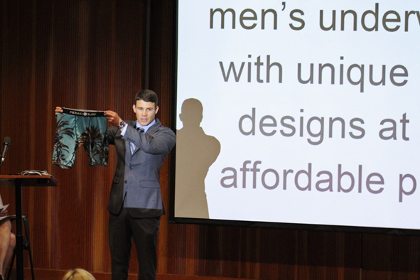 Surf-Themed Men's Underwear Line Takes Top Honors in SBCC New Venture Challenge