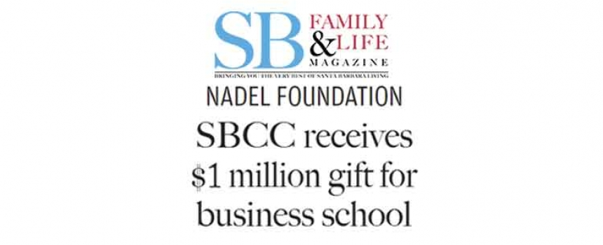SBCC Receives $1 Million Gift for Business School