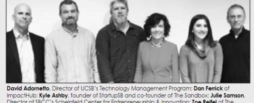 SBCC Scheinfeld Center Introduces Community to Startup Incubators, Accelerators, and Workspaces